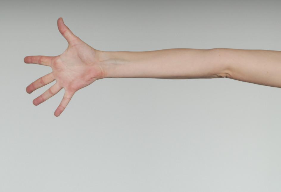 Hände einer Tänzerin